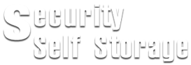 Security Self Storage - Website Logo